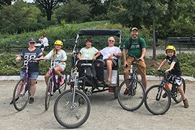 Central Park Combined Pedicab & Bicycle Tour